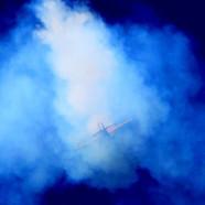 Tail slide with smoke