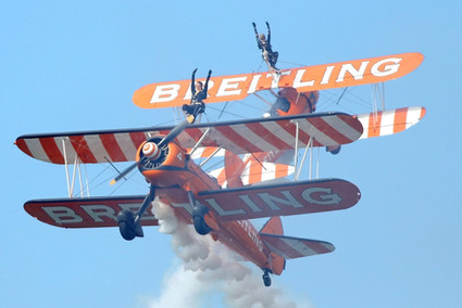 Breitling aerobatic group