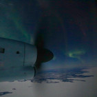 Aurora over North West Frontier, C