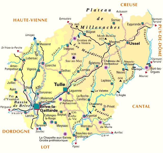 plan départemental de la Corrèze