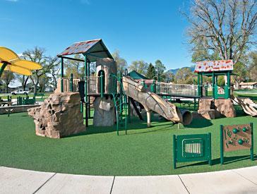 Outdoor playground