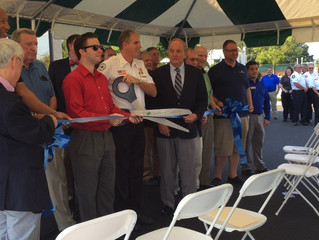 Training Center Reopens with Ribbon Cutting