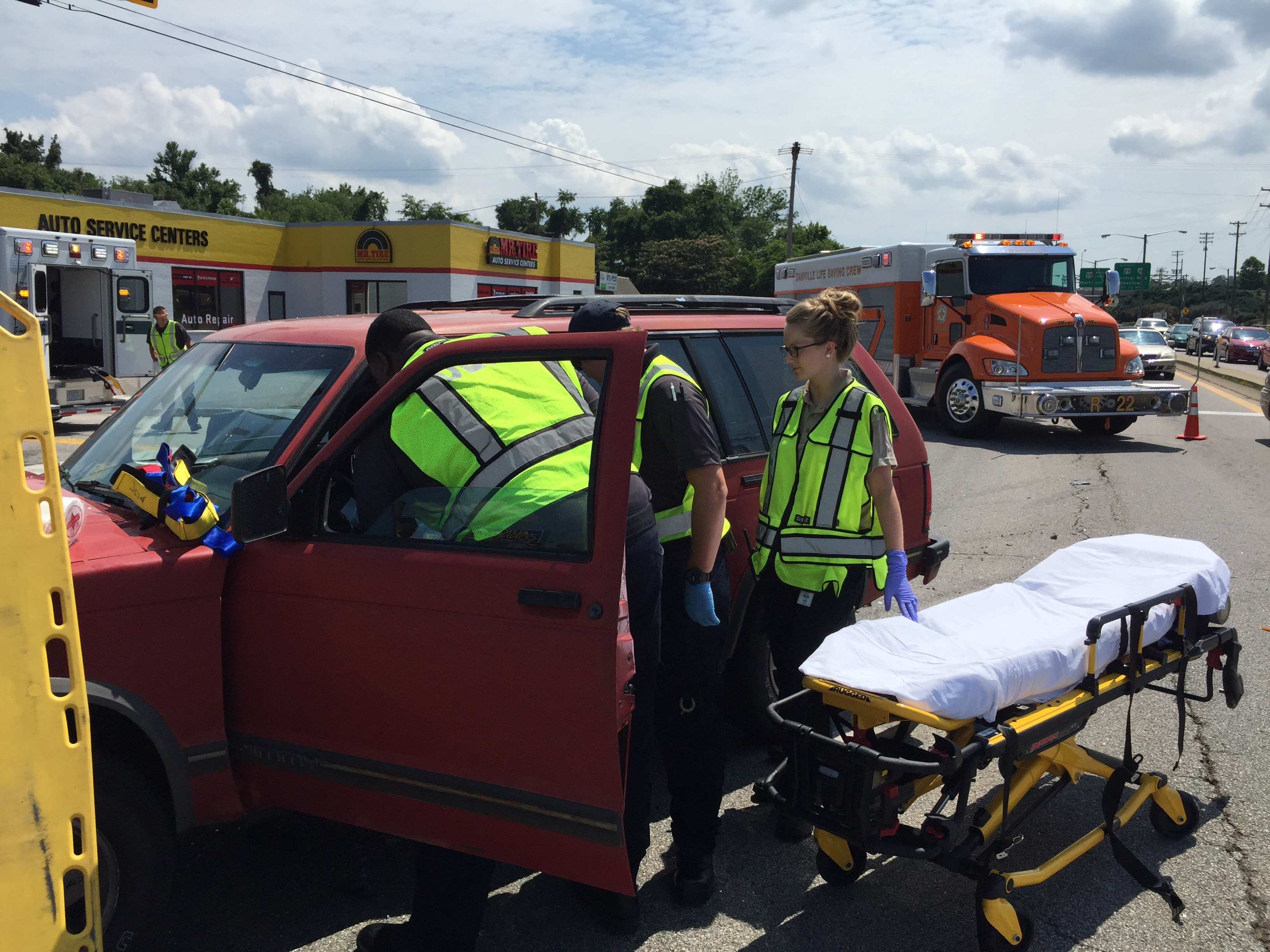 The Crew Responds to a MVC