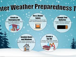 DLSC encourages winter weather preparedness