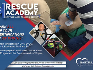 New Rescue Academy Offers 6 Certifications