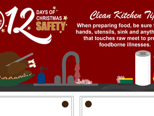 DLSC encourages 12 Days of Christmas Safety
