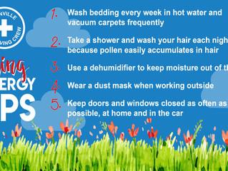 Help Prevent Spring Allergies