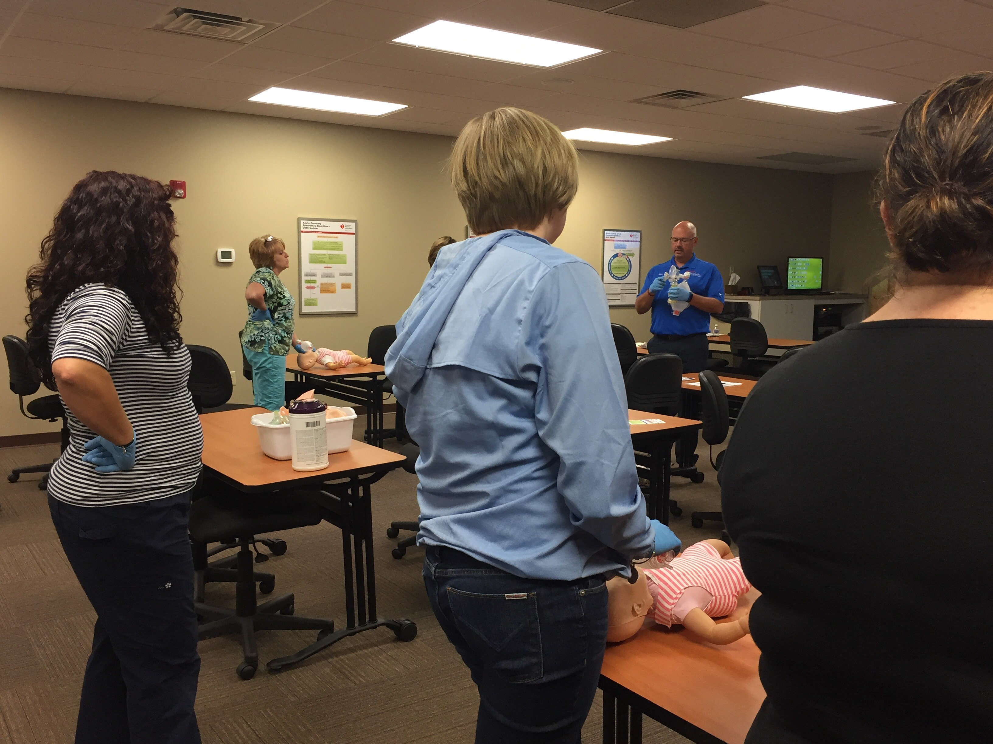 CPR classes take place each week