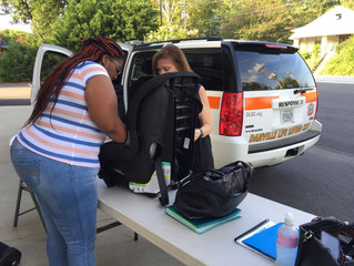 DLSC Partners with State to Bring Free Car Seats to Area
