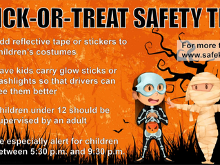 DLSC Encourages Trick-or-Treat Safety