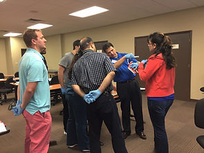 hands-on EMS and first aid training
