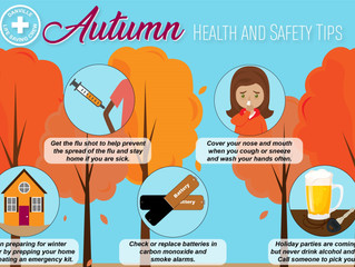 Autumn Health & Safety Tips