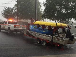 DLSC Responds to Water Calls, Assists Over 100 People