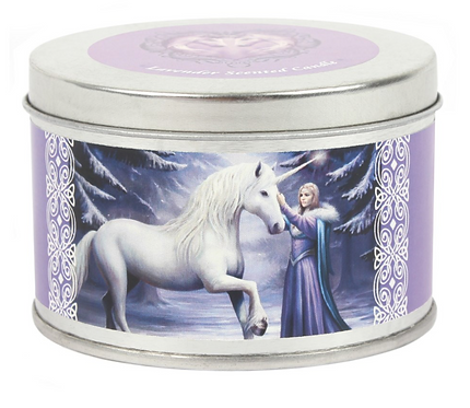 Pure Magic Unicorn Candle By Anne Stokes (Lavender Scented)