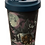 Thumbnail: Protector of the North Wolf Reusable Screw Top Bamboo Composite Travel Mug