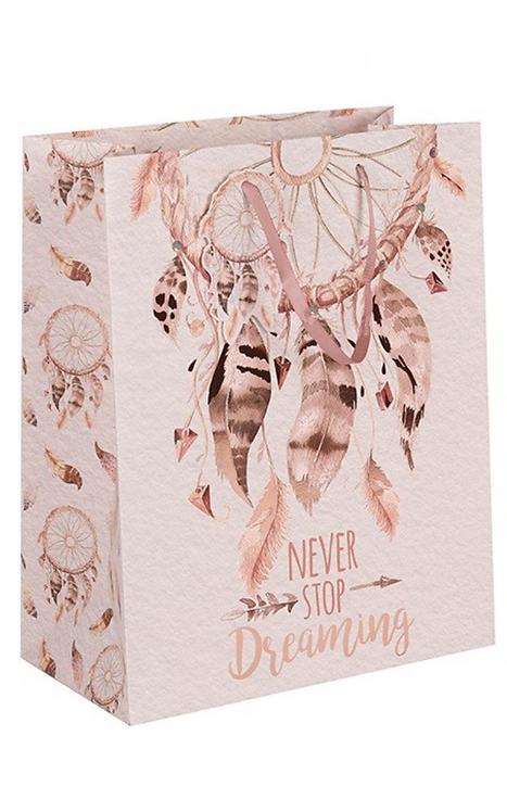 Medium Dreamcatcher Gift Bag (Pink)