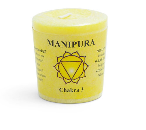 Solar Plexus Chakra Candle (Yellow)