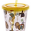 Thumbnail: Ancient Egyptian Plastic 500ml Double Walled Reusable Cup with Straw and Lid