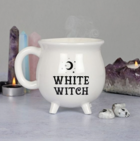 White Witch Cauldron Mug