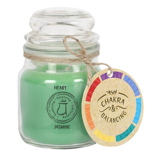 Scented Chakra Balancing 9cm Candle (Heart)