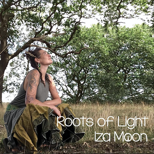 Roots Of Light by Iza Moon. (CD)