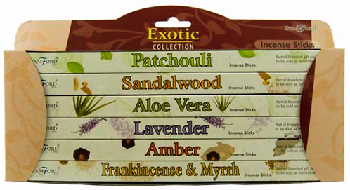 Incense Stick Gift Set Stamford Exotic