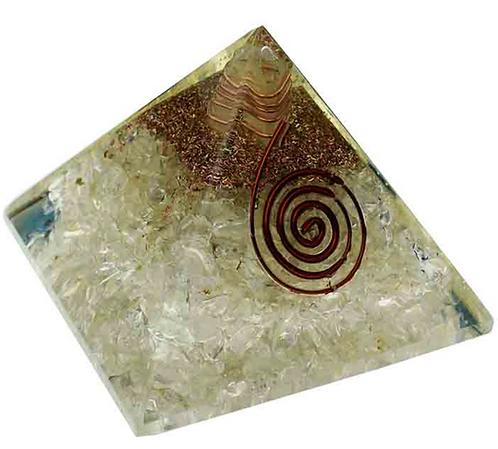 Pyramid Orgone Clear Quartz (7cm)