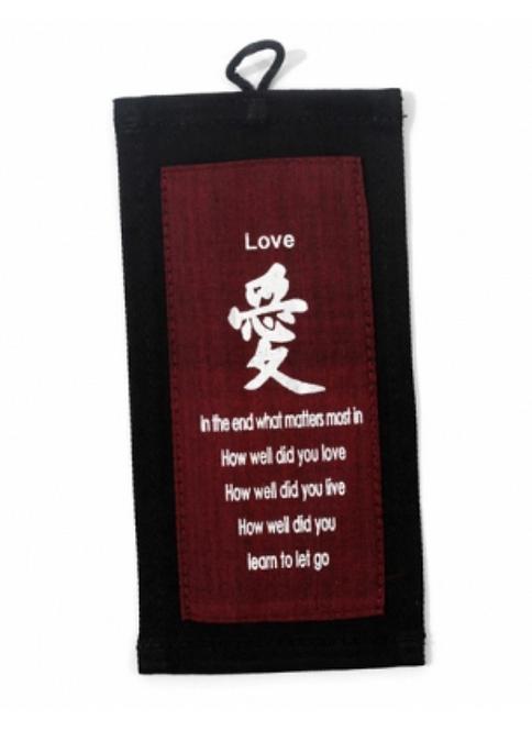 Little Affirmation Of Love Banner (Red)