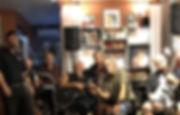 Larry at Open Studio Art Cafe