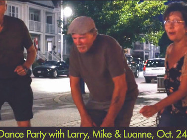 That Guy is back at the Cafe with Mike and Luanne on October 24!