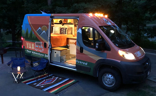 sCAMPer Van Atlanta, GA | Atlanta Adventure Van Rental