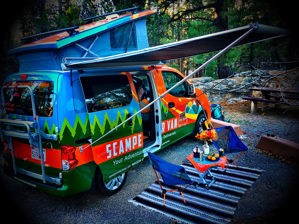 Try a Scamper Van for your next trip!
