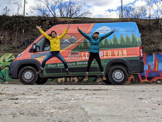 An Asheville Van Life Adventure with sCAMPer Van!