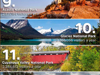 Check out the USA's Top 20 National Parks