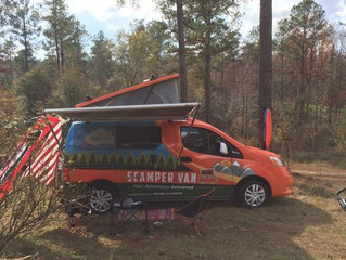 DAWG FANS GO LONG IN SCAMPER VAN ON GAMEDAY