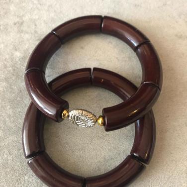 Handmade Dark Brown Bracelets
