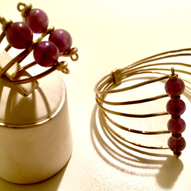 Handmade Amethyst Set