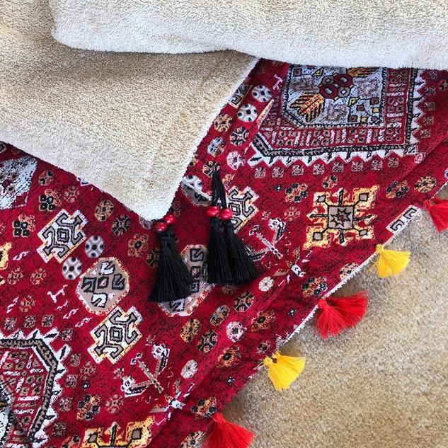 Handmade Rug Pattern Towel