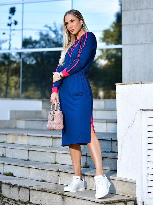 Vestido Bianca Azul
