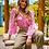 Thumbnail: Camisa Renda Rosa chiclete