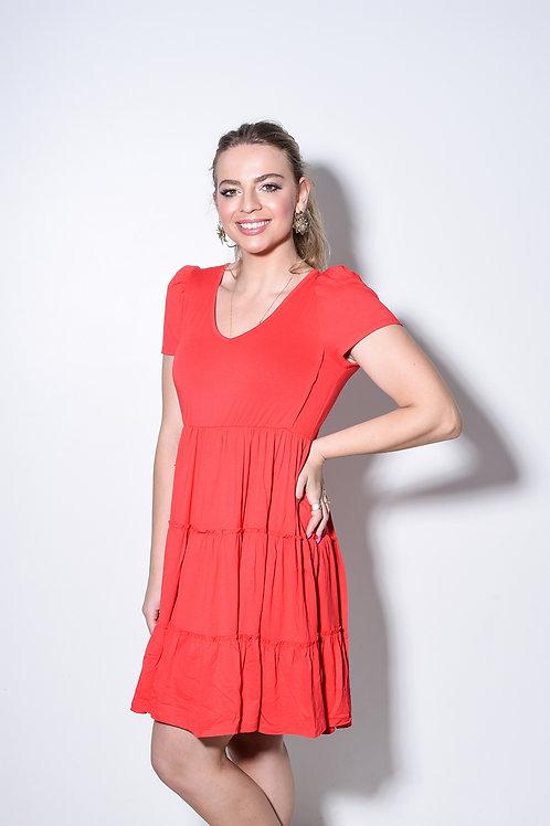 Vestido Nati Vermelho