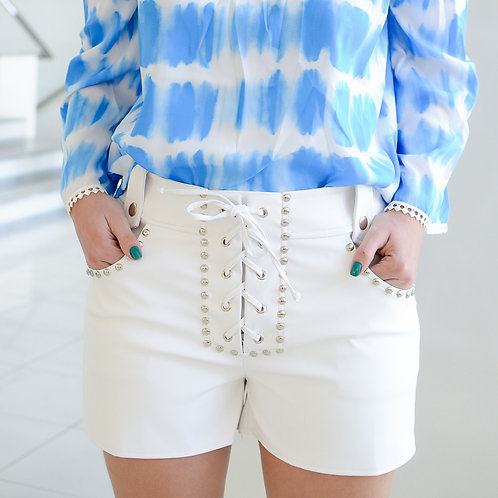 SHORT ECOCOURO OFF WHITE