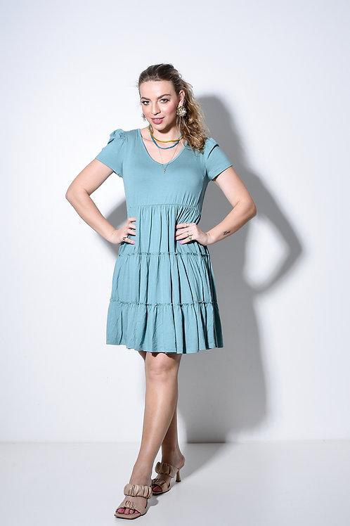 Vestido Nati Turquesa