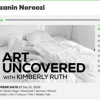Art Uncovered BTR Today, December 2019 Interview with Kimberly Ruth