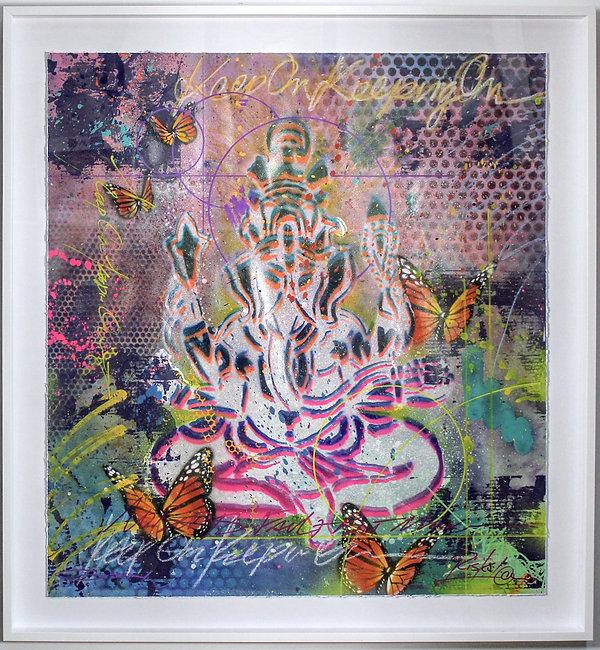 Ganesh and Butterflies