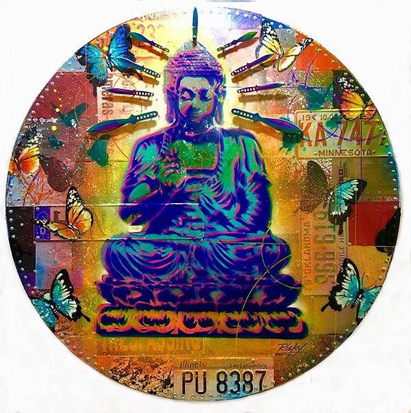 Buddha With Blades