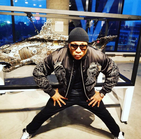LL Cool J with Risk Rock Shark