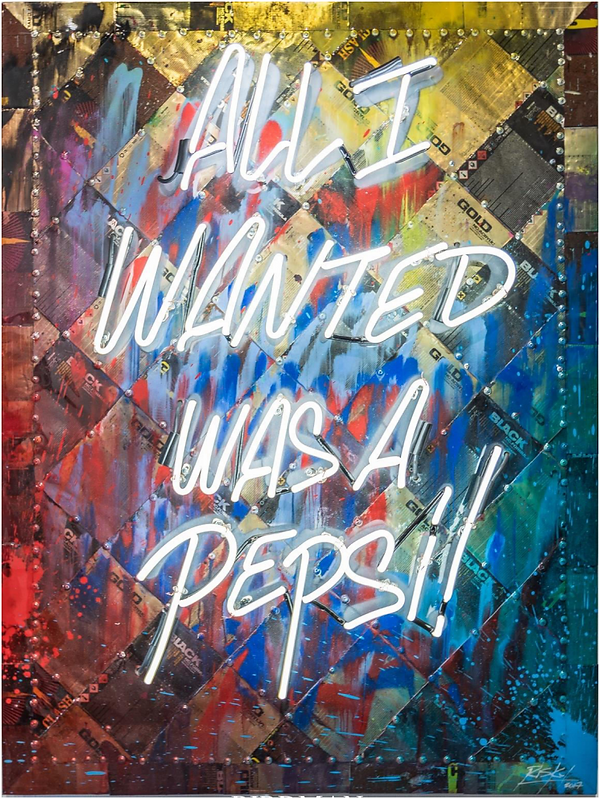 """All I Wanted Was A Pepsi"" Neon"