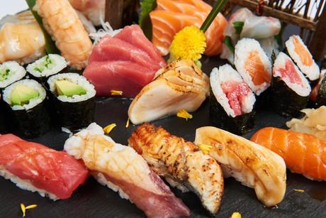 Sushi Moriawase - Tokyo