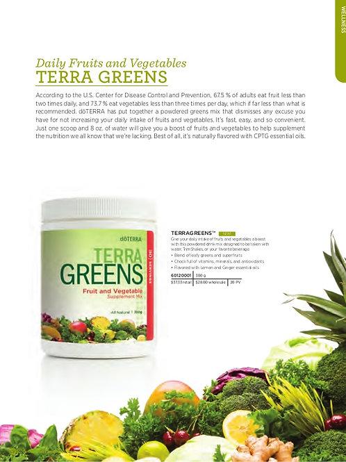 DoTerra Greens